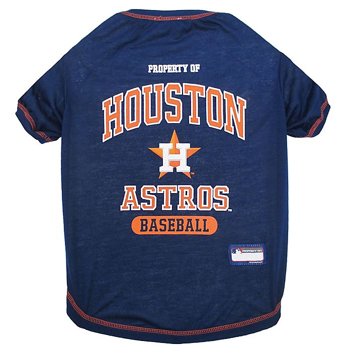 Alternate image 1 for MLB® X-Small Houston Astros Dog T-Shirt