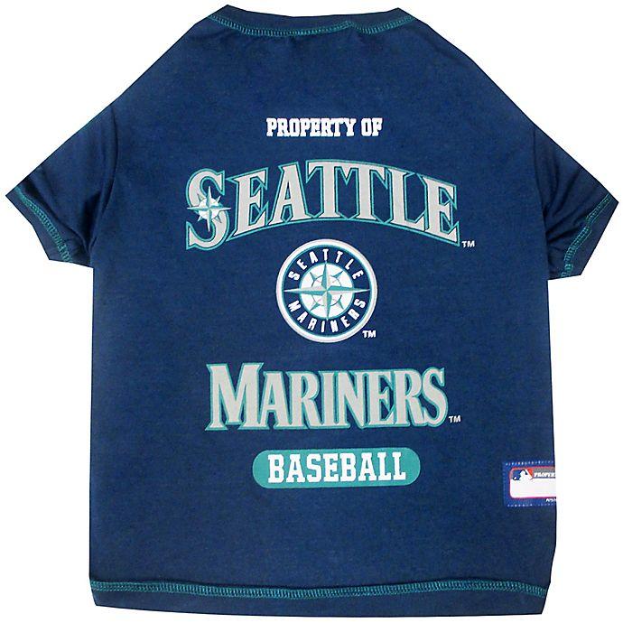 Alternate image 1 for MLB X-Large Seattle Mariners Dog T-Shirt
