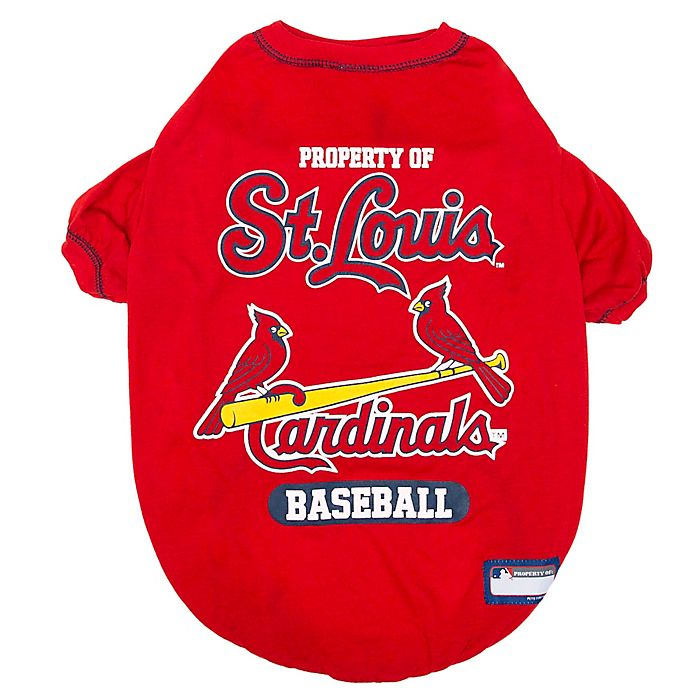 Alternate image 1 for MLB Small St. Louis Cardinals Dog T-Shirt