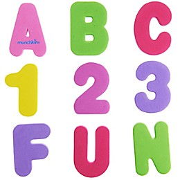 Munchkin® Learn™ Bath Letters And Numbers