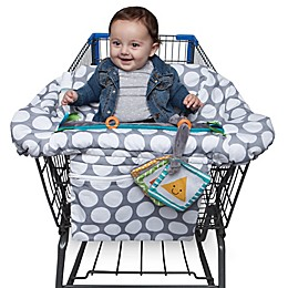 Boppy® Preferred Shopping Cart and High Chair Cover in Jumbo Dots