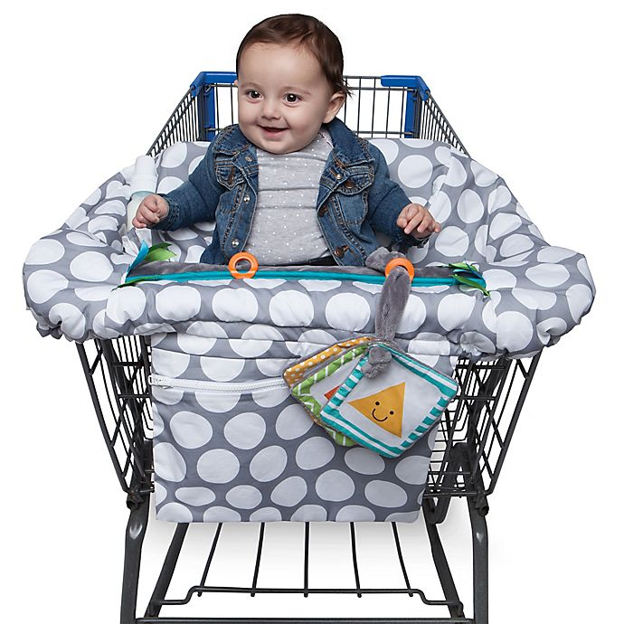 Alternate image 1 for Boppy® Preferred Shopping Cart and High Chair Cover in Jumbo Dots