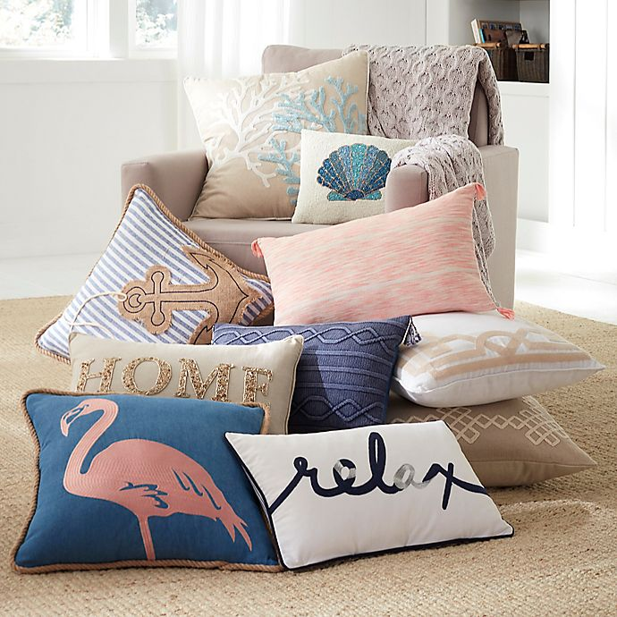 Alternate image 1 for Coastal Living Pillows and Throws