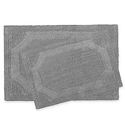 Laura Ashley Reversible Bath Rugs (Set of 2)
