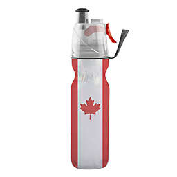 O2COOL® Mist 'N Sip® Canada Maple Leaf Squeeze Water Bottle in Red/White