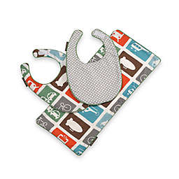 DwellStudio™ Transportation Baby Bibs and Burp Cloth