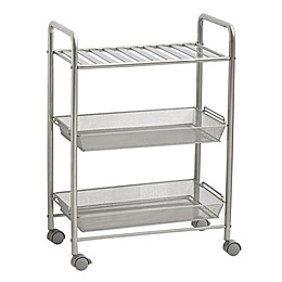 SALT™ 3-Tiered Bathroom Cart