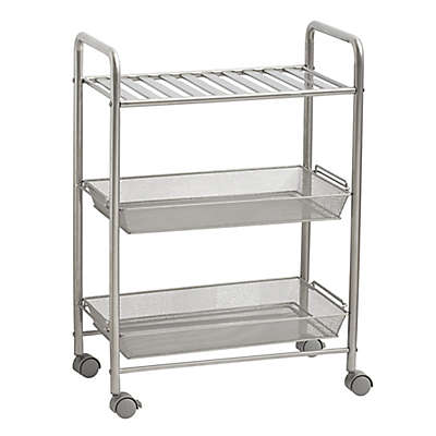 SALT™ 3-Tiered Bathroom Cart