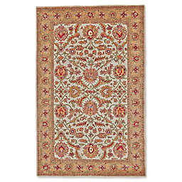 Feizy Abbey Rug in Ivory/Light Gold
