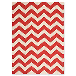Safavieh Courtyard Thick Chevron Indoor/Outdoor Rug