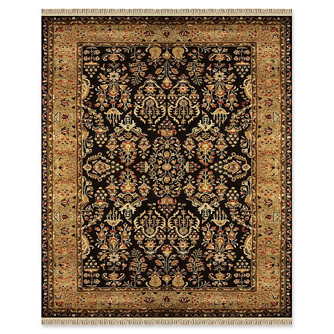 Alternate image 1 for Feizy Alegra 9-Foot 6-Inch x 13-Foot 6-Inch Area Rug in Black