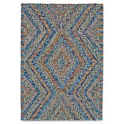 Feizy Kyara Confetti Rug in Blue