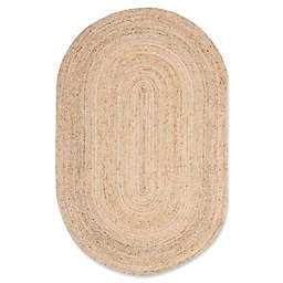 Safavieh Cape Cod Jute Oval Area Rug in Natural