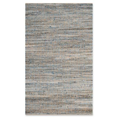 Safavieh Cape Cod Grid Rug In Natural Blue Bed Bath Amp Beyond