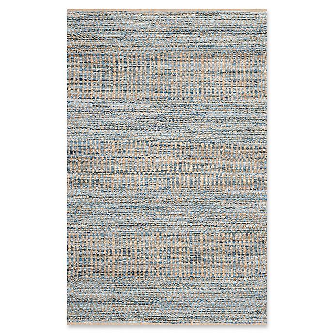 Alternate image 1 for Safavieh Cape Cod Tribal Rug in Natural/Blue