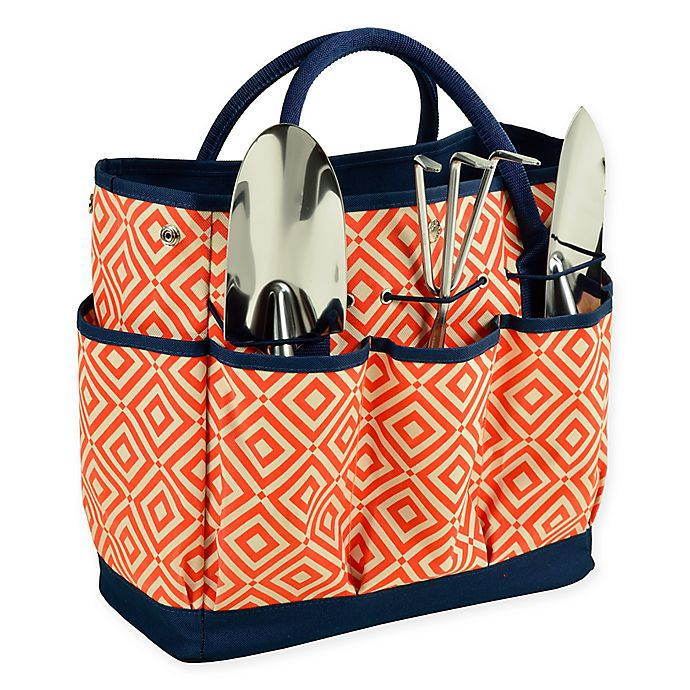 Alternate image 1 for Picnic at Ascot Gardening Tote with Tools
