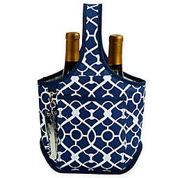 Picnic at Ascot 2-Bottle Wine Tote with Corkscrew