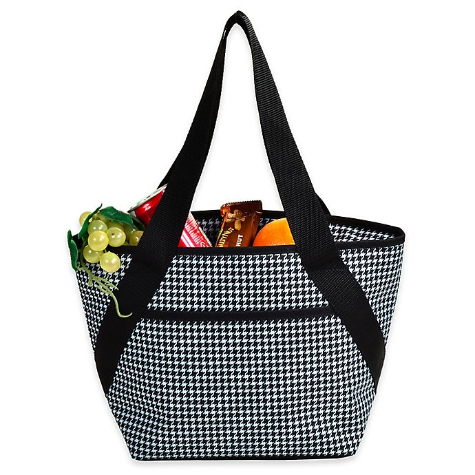 98d7972de2 Picnic at Ascot Insulated Cooler Lunch Tote in Houndstooth