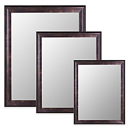 Hitchcock-Butterfield Decorative Wall Mirror in Espresso