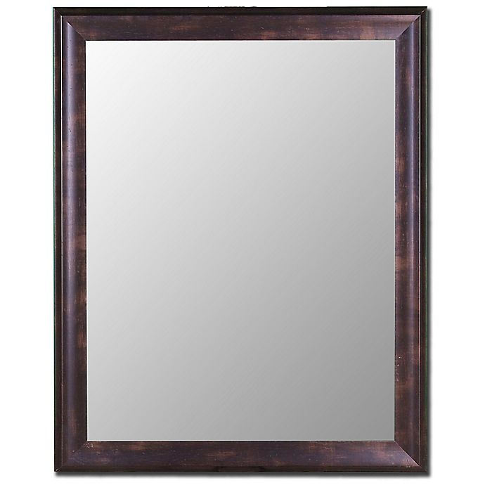 Alternate image 1 for Hitchcock-Butterfield 27-Inch x 37-Inch Decorative Wall Mirror in Espresso