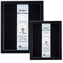 Lawrence Frames Wood Shadow Box Frame in Black
