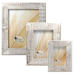 Lawrence Frames Weathered Woods Picture Frame in Grey