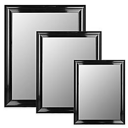 Hitchcock-Butterfield Grande Wall Mirror in Glossy Black