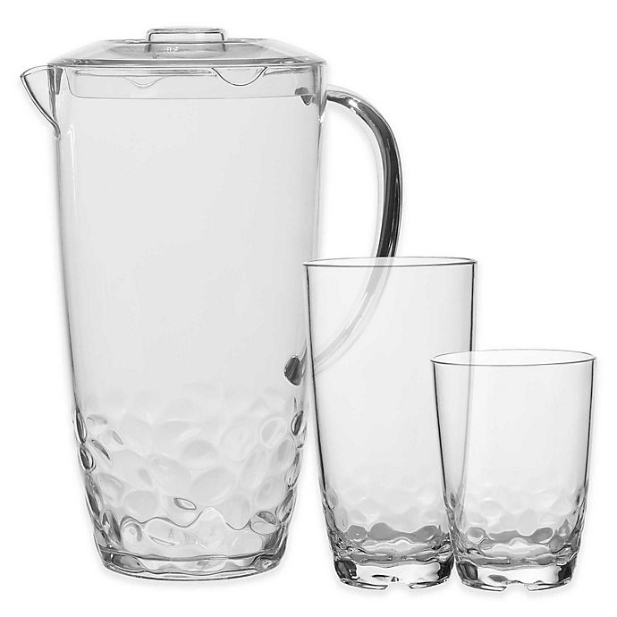 Alternate image 1 for Pebbles Drinkware in Clear