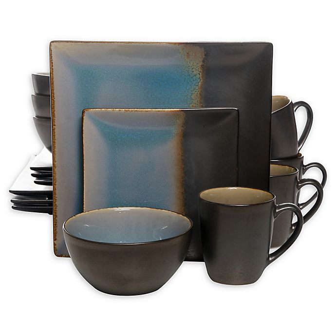 Alternate image 1 for Gibson Home Kaidence 16-Piece Dinnerware Set