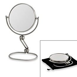 Jerdon Model's Choice 1X/10X Folding Travel Mirror
