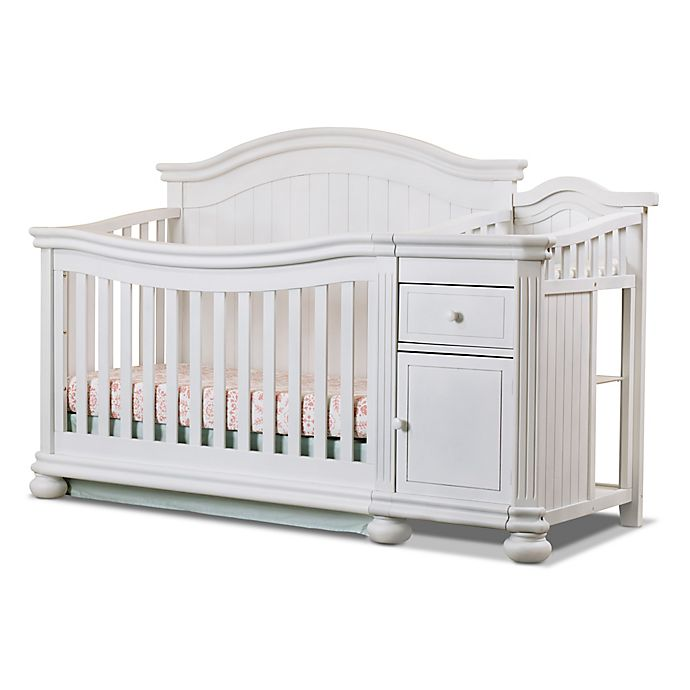 Sorelle Finley 4-in-1 Convertible Crib and Changer | Bed ...
