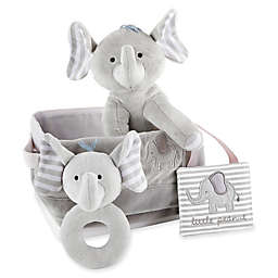 Baby Aspen 5-Piece Little Peanut Elephant Gift Set