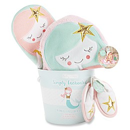 Baby Aspen 4-Piece Simply Enchanted Mermaid Bath Gift Set