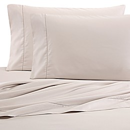 Wamsutta® PimaCott 525-Thread-Count Flat Sheet in Khaki