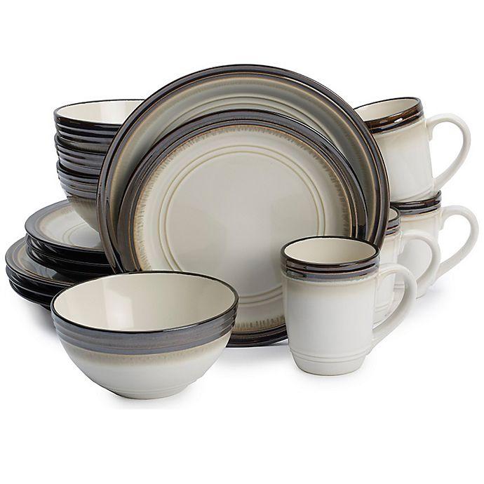 Alternate image 1 for Gourmet Basics by Mikasa® Bailey 16-Piece Dinnerware Set