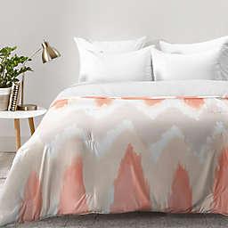 Deny Designs Zoe Wodarz ZigZagZig Comforter in Pink
