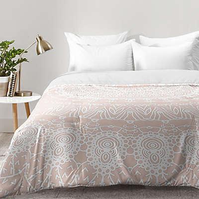 Deny Designs Monika Strigel Waiting 4 U Comforter in Rose