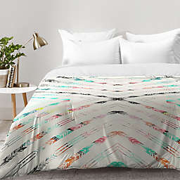Deny Designs Pattern State Valencia Comforter in Blue