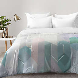 Deny Designs Emanuela Carratoni Raw Gems Comforter in Blue