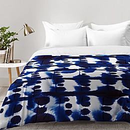 Deny Designs Jacqueline Maldonado Parallel Comforter in Blue