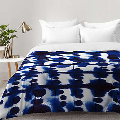 Deny Designs Jacqueline Maldonado Parallel Comforter in Blue