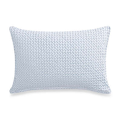 Bellora® Luxury Italian-Made Asami Stone Oblong Throw Pillow in Sky Blue