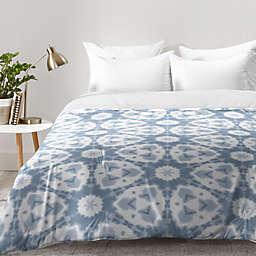 Deny Designs Jaqueline Maldonado Shibori Watercolor Comforter in Grey