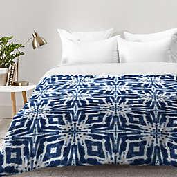 Deny Designs Jaqueline Maldonado Shibori Watercolor Comforter in Indigo