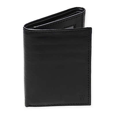 Cathy's Concepts Oxford Tri-Fold Genuine Leather Wallet