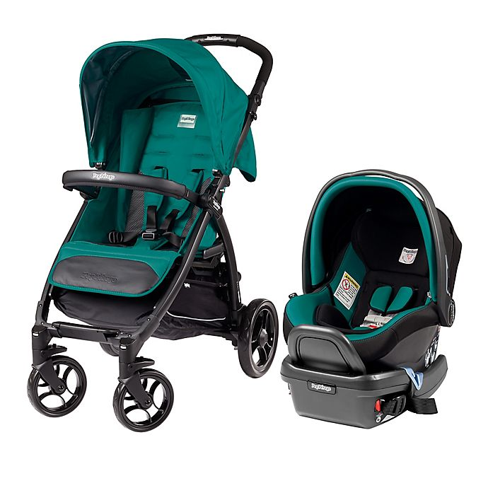 Peg Perego Booklet Travel System In Aquamarine Bed Bath And Beyond