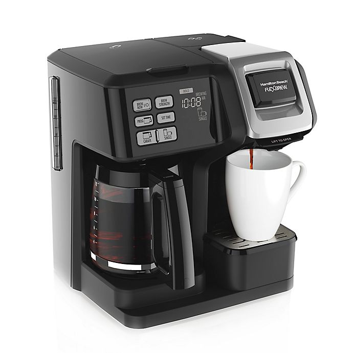 Alternate image 1 for Hamilton Beach FlexBrew 2-Way Coffee maker
