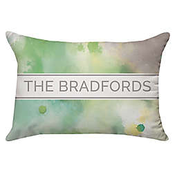 Spring Botanical Rectangle Throw Pillow