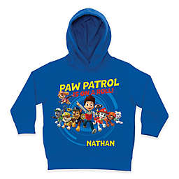 "Nickelodeon™ ""PAW Patrol Is On a Roll!"" Pullover Hoodie in Blue"