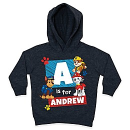 "Nickelodeon™ PAW Patrol ""Is For"" Pullover Hoodie in Charcoal"